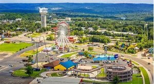 AERIAL VIEW OF BRANSON MO IMAGE